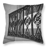 Architecture Of Vernon Place Throw Pillow