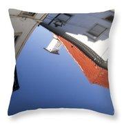 Architecture Reflection Throw Pillow