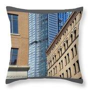 Architextures Throw Pillow