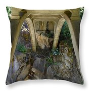 Archway To The Abyss Throw Pillow