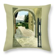 Archway Villa Mandri Throw Pillow