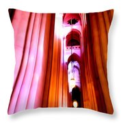 Archways Of St.john The Divine Throw Pillow
