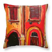 Arco Di Firenze Throw Pillow