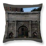 Arco Di Settimio Severo Throw Pillow