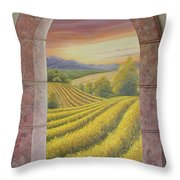 Arco Vinal Throw Pillow
