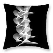 Arcs Of Aggregation Throw Pillow