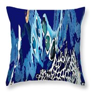 Arctic Sea Throw Pillow