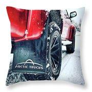 Arctic Trucks Throw Pillow