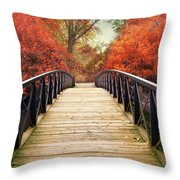 Ardent Autumn Throw Pillow