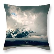 Are There Any Mountains Throw Pillow