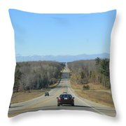 Are We Almost There ? Throw Pillow