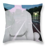 Are We There Throw Pillow