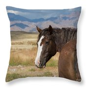 Are You Coming? Throw Pillow by Nicole Markmann Nelson