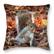 Are You Friendly Throw Pillow
