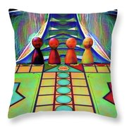 Are You Game Throw Pillow
