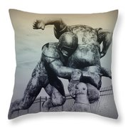 Are You Ready For Some Football Throw Pillow by Bill Cannon