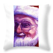 Are You Sure You Have Been Nice Throw Pillow by Shannon Grissom