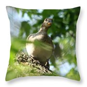 Are You There Throw Pillow
