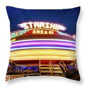 Area 51 Gravitron Throw Pillow