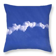 Area1x Rocket Exhaust Trail Throw Pillow