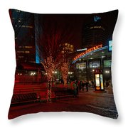 D66l-4 Arena District Photo Throw Pillow