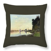 Argenteuil, Late Afternoon Throw Pillow