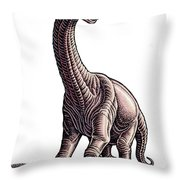 Argentosaurus Throw Pillow