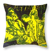 Argungun Festival 2 Throw Pillow