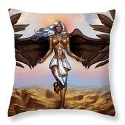 Ariel - Demon Throw Pillow