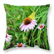 Arie's Garden Throw Pillow