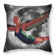 Aries Rising Throw Pillow