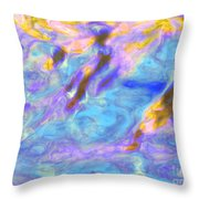 Love What Arises Throw Pillow
