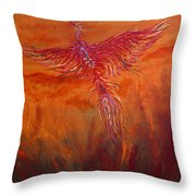 Arising From The Depths Throw Pillow