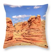 Arizona Candyland Throw Pillow