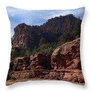 Arizona Canyon One Throw Pillow