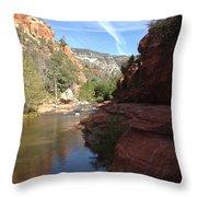 Arizona Canyon Sky Two Throw Pillow
