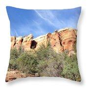 Arizona Canyon Two Throw Pillow