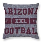 Arizona Cardinals Retro Shirt Throw Pillow