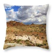 Arizona Cliffs Throw Pillow