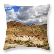 Arizona Cliffs Throw Pillow
