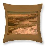 Arizona Cloudscape II Throw Pillow