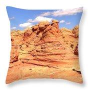 Arizona Desert Dreamscape Throw Pillow