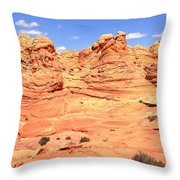 Arizona Desert Pastels Throw Pillow