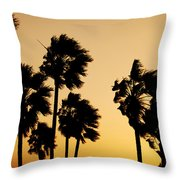 Arizona Dust Storm Throw Pillow