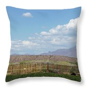 Arizona Farming Throw Pillow