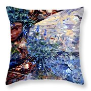 Arizona Flora Study Throw Pillow