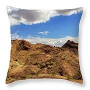 Arizona Hills Throw Pillow