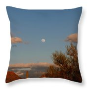 Arizona Moon II Throw Pillow