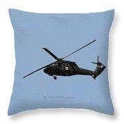 Arizona National Guard At Work Throw Pillow