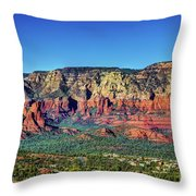 Arizona Rest Stop Throw Pillow